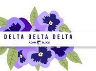 Delta Delta Delta / ΔΔΔ Sorority