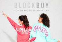 ABD | BlockBuy / BlockBuy: the awesomest way to purchase retail sorority apparel at wholesale prices!