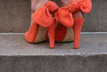 Shoes, pretty pretty shoes. / Pretty shoes. And sometimes they are comfortable