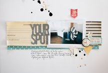 Happy Scrappy / Layout inspiration for my scrapbooking habit.