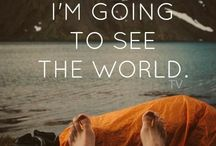 Globetrotting / Places I want to see.....inspiration for the journey / by Amy Millios