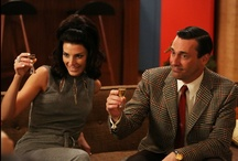 Mad Men  / Beware-do not look at the pictures of the current week if you have not yet seen the show, fly by them.