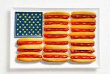 4th / Patriotic stuff. Mostly food.
