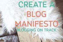 Blogging | Amber L. Carter / by Amber L. Carter