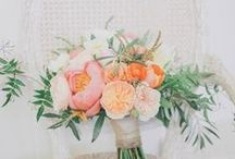bridal bouquets / it's all about the pretty petals! By far the most important bouquet of a wedding and it better be killer!