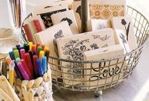 Scrapbook Storage / Tips for organizing all my stuuuuuff.