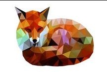 Foxes / All things fox. Since it's my last name and all.