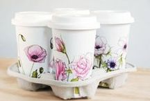 FLORAL PACKAGING -  inspiration & pattern / FInd out the prettiest floral patterns used on packaging and labels.