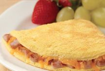 Egg-cellent Recipes / Delicious breakfast for dinner recipes made with Egg Beaters. / by ReadySetEat