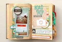 Smashing / Ideas for Smashbooks, or generally pasting junk into journals.