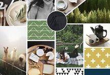 Mood Boards / Moods, moods, moods. Inspiration for design.