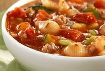 Simmering Soups / Hot and savory soups to warm you up on the coldest days / by ReadySetEat