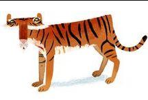 ANIMALS - illustration & pattern / Animal inspired illustrations