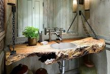 Bathrooms / My favorite styles and materials used in bathrooms