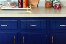 Kitchens / Kitchen designs and materials that inspire me