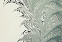 MARBLE PAPER - pattern & print / Marble paper