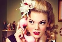 Vintage Hairstyling / Vintage hairdo inspirations and tutorials.