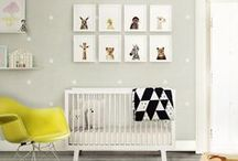 YELLOW & GREY NURSERY / Our theme for our baby girl's nursery - yellow, grey and white!