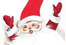 Vintage Christmas / Pretty vintage Christmas images and things.