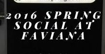 2016 Spring Social at Faviana / Celebrate our fall collection! Get backstage fashion show impressions and take a closer look at the model makeup​ and event location. Celebrate our beautiful gowns and dresses with us!