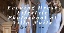 Evening Dress Lifestyle Photoshoot at Villa Nuits / Get the glamorous look for your next event with Faviana's Spring 2018 Collection and get inspired by our photoshoot at Villa Nuits on the Hudson! Our spring 2018 collection shows dresses that you and your BFF's can slay individually or together for dress twinning. Be the trendsetter with Faviana's mermaid evening dresses, edgy two-piece dresses and stylish open back evening dresses. There is a dress for every body typeand every event you are attending.