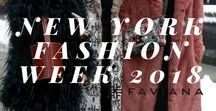 New York Fashion Week 2018 / Here is our Faviana trend report from New York Fashion Week! We compiled all of our favorite looks, from top-handle bags, white boots, to teddy-coats. This is the ultimate destination for all trends! Get inspiration for prom, events or anything you have coming up! These are Faviana's favorite trends from NYFW F/W18. #nowtrending #nyfw18
