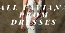 All Faviana Prom Dresses / Browse through all our previous Faviana evening dress collections and find your perfect fit, guaranteed. Two piece prom dress, off the shoulder gown or even high-low dress are some of our favorite designs. This board includes all our Prom Dress Collections from 2016, 2015 and earlier.