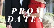 Faviana Prom Dates / Heading to Prom in Faviana? Showcase your look with your plus one! From wearing matching flowers to bowties. This is all of your inspiration for couple goals! Tag @faviana_stylist in your couple picture on Instagram to be featured