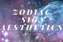 Zodiac Sign Aesthetic / Born under the stars, we all have our own Zodiac Sign. Each sign possesses their own individual presence and we at Faviana value individuality and bringing out the best in women. Here we have curated inspiration for each sign to match many of our signature pieces, find yours! #VisionBoard