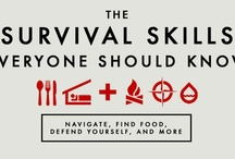 *self reliant* / Emergency preparedness tips and survival skills. Lists of how to prepare for emergencies and how to deal with them. 72 hours kits, food storage, and more.