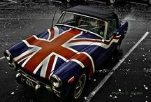 Britannia ~ Red ~ White ~ Blue / britannia rules theme, collating red, white, blue, royalty and iconic images of britain