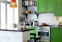 *kitchen love* / Kitchen decor ideas as well as colors, textures, themes, appliances, and more.