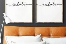 *our room* / Inspiration for our master bedroom. Colors, furniture, fabrics and more decorating ideas.