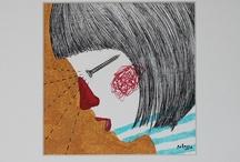 Patossa en su tinta | illustration by Patossa