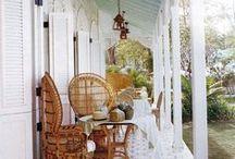 Garden patio's