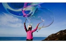 Our Giant Bubble Kits / Some of our wonderful, easy to use, all weather, friend-making, smile-spreading Giant Bubble Kits :)