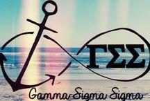 Gamma Sigma Sigma <3  / by Saira Ramessar