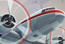 Aviation Art - Vintage Airline / by Mark Donaldson