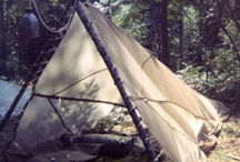 Shelter / Emergency shelters while camping, evacuation, or bug-out locations.
