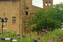 Our Location and Garden / Ex Abbey, Agriturismo for holidays, ecoweddings and eco events in Umbria - Italy