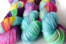Sunrise Fiber Co. Yarns / Hand dyed yarn from Sunrise Fiber Co : fearless color, beautiful yarn, joyful knitting.
