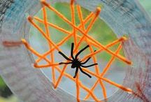 Insect and Spider activities / A start of collecting ideas for insect and spider related activities and crafts to do with the kids and associated books.