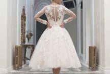 Wedding Dresses Knee and Tea Length Retro 50's / by Svetlana