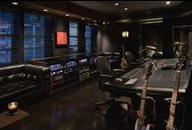 Recording Studio Inspiration / Our favorite home recording studio designs for our dream studio!