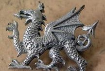 Fantasy dragon Jewellery to admire / My own collection of fantasy dragon jewellery to admire and some we are selling. From dragon earrings, bracelets, brooches and necklaces. With the addition of Chinese dragon jewellery of all kinds.