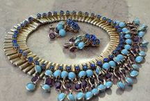 Cool necklaces from old to new / A whole collection of different and unusual cool necklaces. These necklace can be of beads or metal. Gemstone or crystal. Once again a mix of vintage, antique and new necklaces
