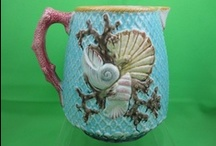 mad about majolica / passionate for Palissy ware / by wild rose