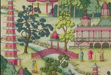 """chinoiserie / Chinoiserie is a French term, meaning """"Chinese-esque"""" and reflects Chinese artistic influences on Western design. / by wild rose"""