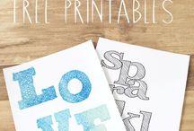 Fonts, Graphics, & Printables