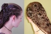 braided and plaited / beautiful intertwined tresses / by wild rose
